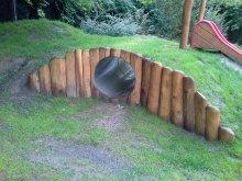 63. Tunel s palisádou