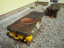 88. Zahradnický stůl