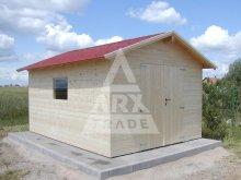 13. ND se sedlovou střechou, dvoukřídlé dveře